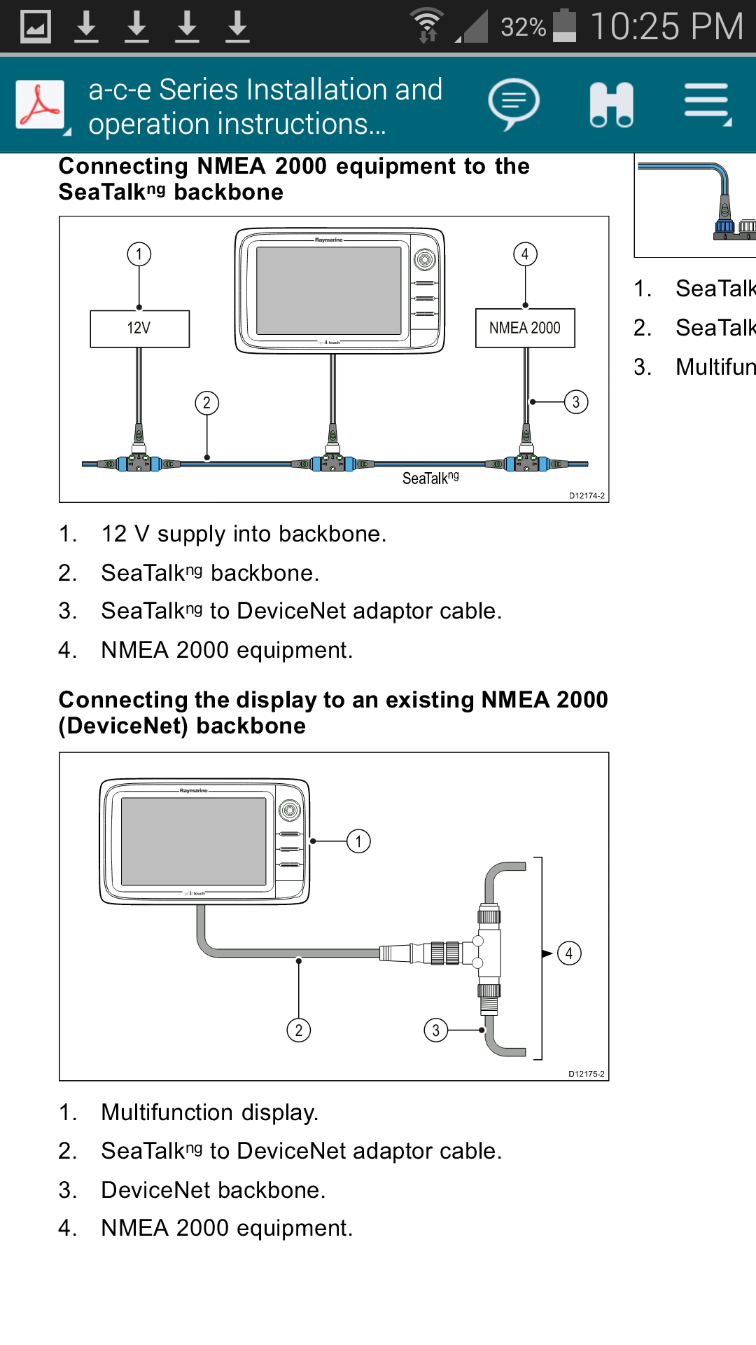 Nmea 2000 To 2013 Suzuki Df115a T Connector Wiring Diagram You Want The Male One That Will Plug Into Female Socket On Network Tee Notice And Devicenet Are Same Thing